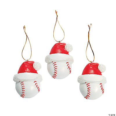 Baseball Christmas Ornaments