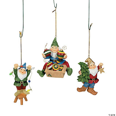 Gnome Christmas Ornaments
