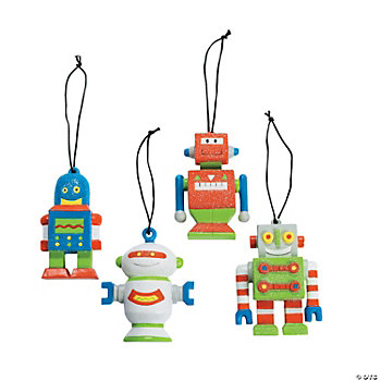 Robot Ornaments