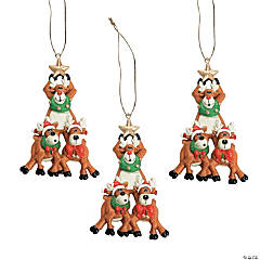 Reindeer Tree Ornaments