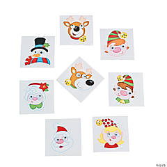 Christmas Wiggle Eye Stickers