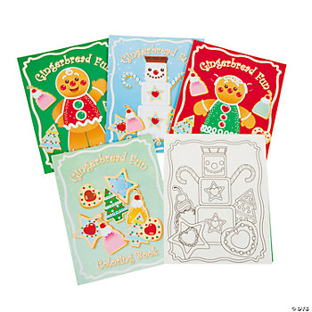 Gingerbread Coloring Books