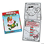 North Pole Story Coloring Books