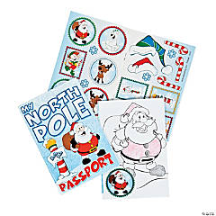 """My North Pole Passport"" Sticker Books"