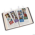 Religious Christmas Stained Glass Bookmarks