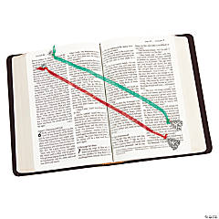 Christmas Religious Ribbon Bookmarks