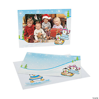 Penguin Season's Greetings Photo Cards