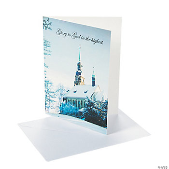 Winter Church Christmas Cards