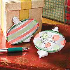 Christmas Ornament Sticky Notes
