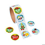 """Share His Light And Love"" Roll Stickers"