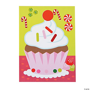 Make-A-Sweet Treat Sticker Scenes