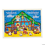 Nativity Sticker Scrambles