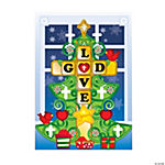 Make-A-Christmas Tree Cross Sticker Scenes