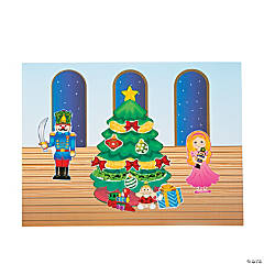 Nutcracker Scene Stickers