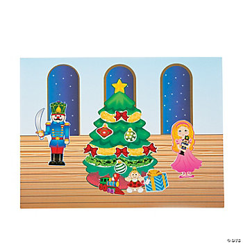 Nutcracker Make-A-Scene Stickers
