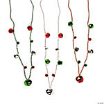 Jingle Bell Beaded Necklaces