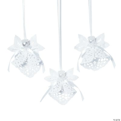Battenburg Lace Angel Ornaments