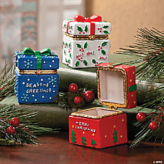 Hinged Present Boxes