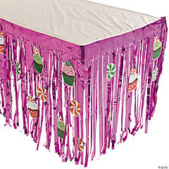 Sweet Treats Table Skirt With Cutouts