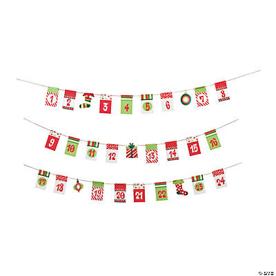 Christmas Countdown Garland