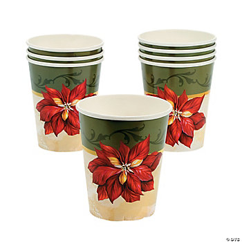 Poinsettia Cups