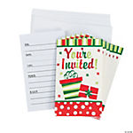 Bright Christmas Invitations