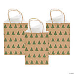 Christmas Tree Craft Bags