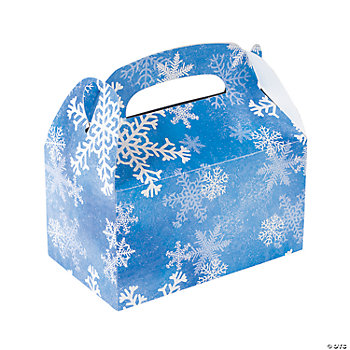 Snowflake Treat Boxes