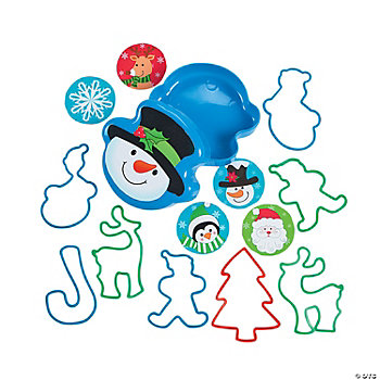 Toy-Filled Snowman Containers