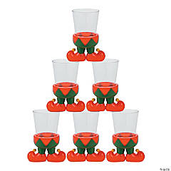 Elf Character Shot Glasses