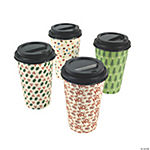 Christmas Print Insulated Cups