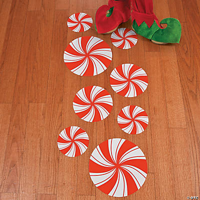 Peppermint Floor Decals