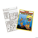 """Night Before Christmas"" Comic Coloring Books"