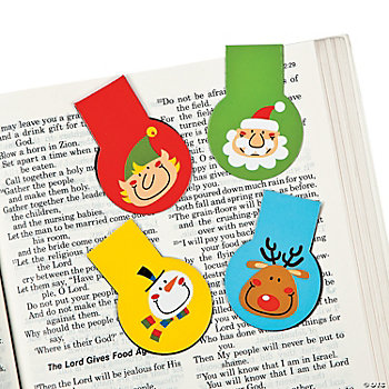 Mini Christmas Icon Bookmark Magnets