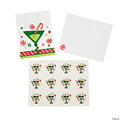 Holiday Cocktail Cards