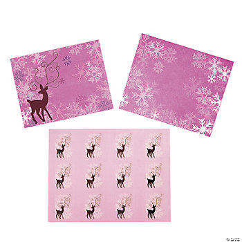 Personalized Reindeer Cards