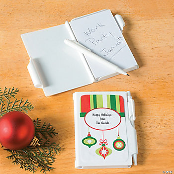 Ornament Notepad Cases with Pen