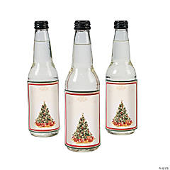 Holiday Tree Bottle Labels