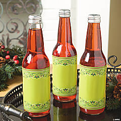 Holiday Wishes Bottle Labels