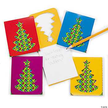 Christmas Die Cut Notepads