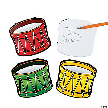 Drum-Shaped Notepads