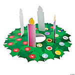 Pop-Up Advent Wreath Sticker Scenes