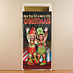 Elf Photo Door Banner
