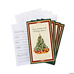 Classic Christmas Tree Invitations