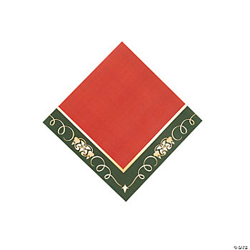 Christmas Tree Beverage Napkins