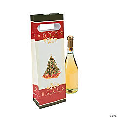 Christmas Tree Wine Bags