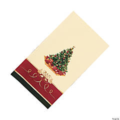 Christmas Tree Guest Towels