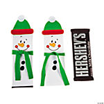 Christmas Candy Bar Covers With Hershey® Chocolate Bars