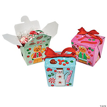 Candytown Takeout Boxes