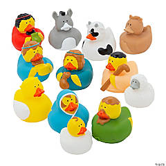Nativity Rubber Duckies